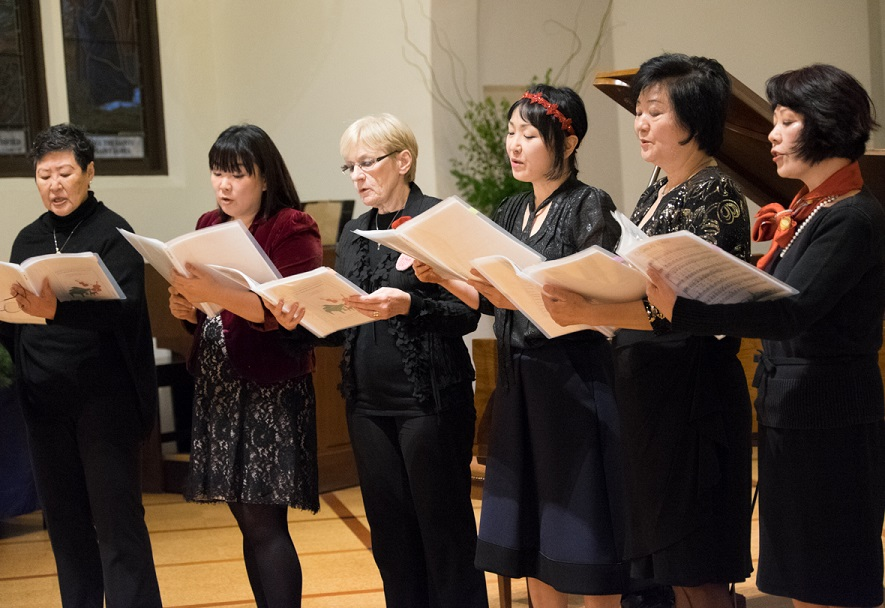 NCMACC Adult Singing Group Performed at NCMACC's Fundraising Event in 2015. Photo by Jay Mijares